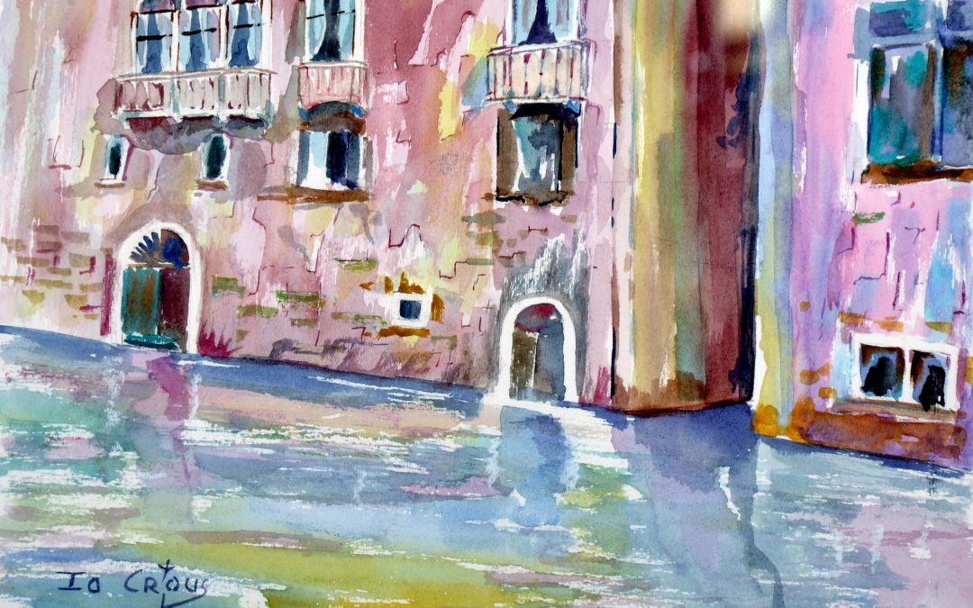 1016- VENICE: THE OLD PALAZZO