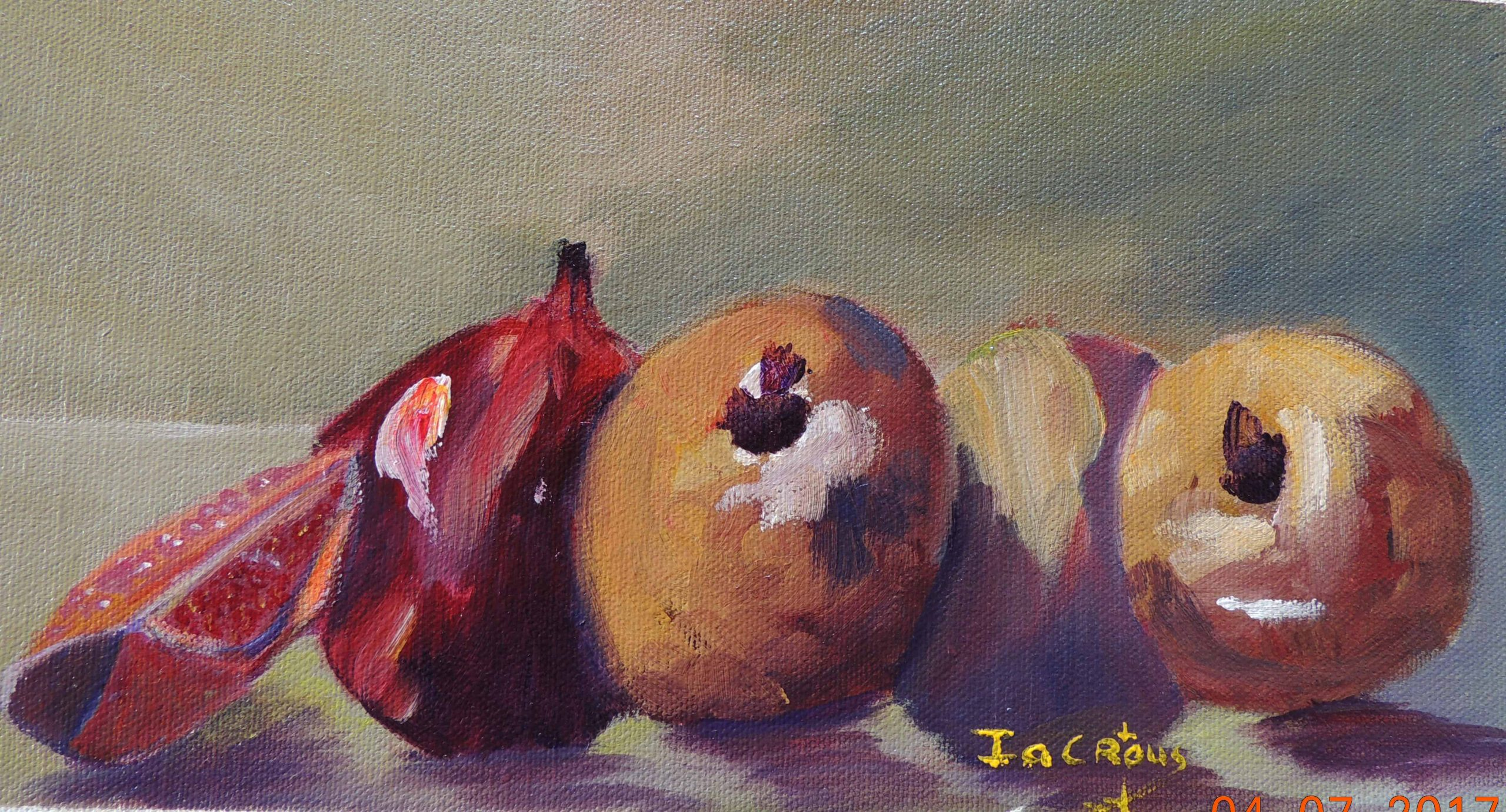 Blog no 1: THE POWER, PASSION AND SYMBOLISM OF THE POMEGRANATE